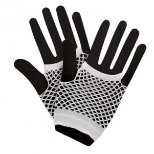 Party Gloves 'White'