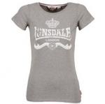 Lonsdale Dames T-shirt 'Soho Grey'