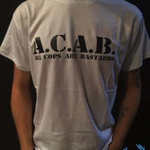 ACAB T-shirt 'Basic Black'