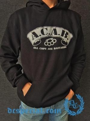 ACAB Hooded Sweater 'Knuckle Black'