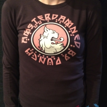 Amsterdamned Dames Longsleeve 'Brown'