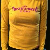 Amsterdamned Dames Longsleeve 'Yellow'