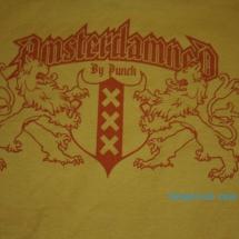 Amsterdamned T-Shirt 'Yellow'