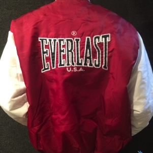 Everlast Bomber Jacket 'Bordeaux/White'