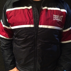 Everlast Winter Jacket 'Everlast Navy Blue/Bordeaux'