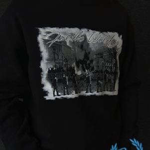 Hooligan Sweater 'Heal The World'