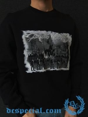 Hooligan Sweater 'Heal The World'