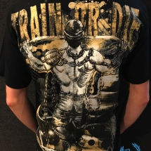 Pit Bull T-shirt 'Train Or Die'