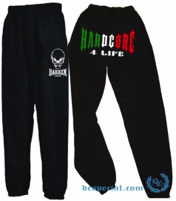 Hakken Joggingpants 'Hardcore 4 Life'