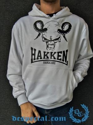 Hakken Hooded Sweater 'Ramhead White'