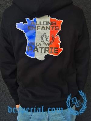 France Hooded Sweater 'Pays'