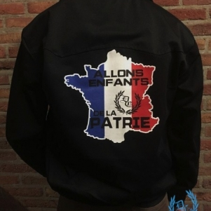 France Harrington Veste 'Pays'