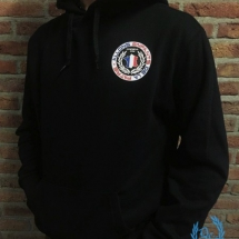France Hooded Sweater 'De La Patrie'