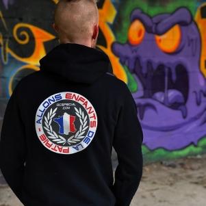 France Hooded Sweater 'De La Patrie'
