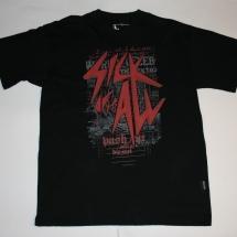 Evil Activities T-Shirt 'Sick Of It All'