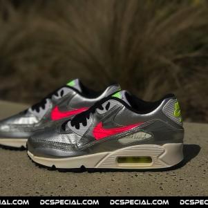 Nike Air Max 90 'Silver/Pink'