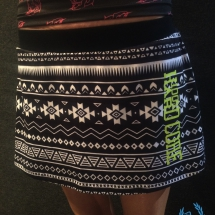 100% Hardcore Ladies Skirt 'Aztec'