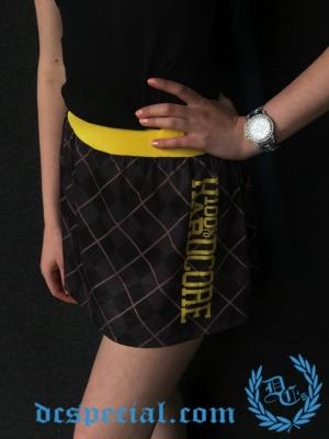 100% Hardcore Dames Rok 'Check Yellow'