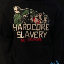 Hardcore Slavery Hooded Sweater 'The Survivors'