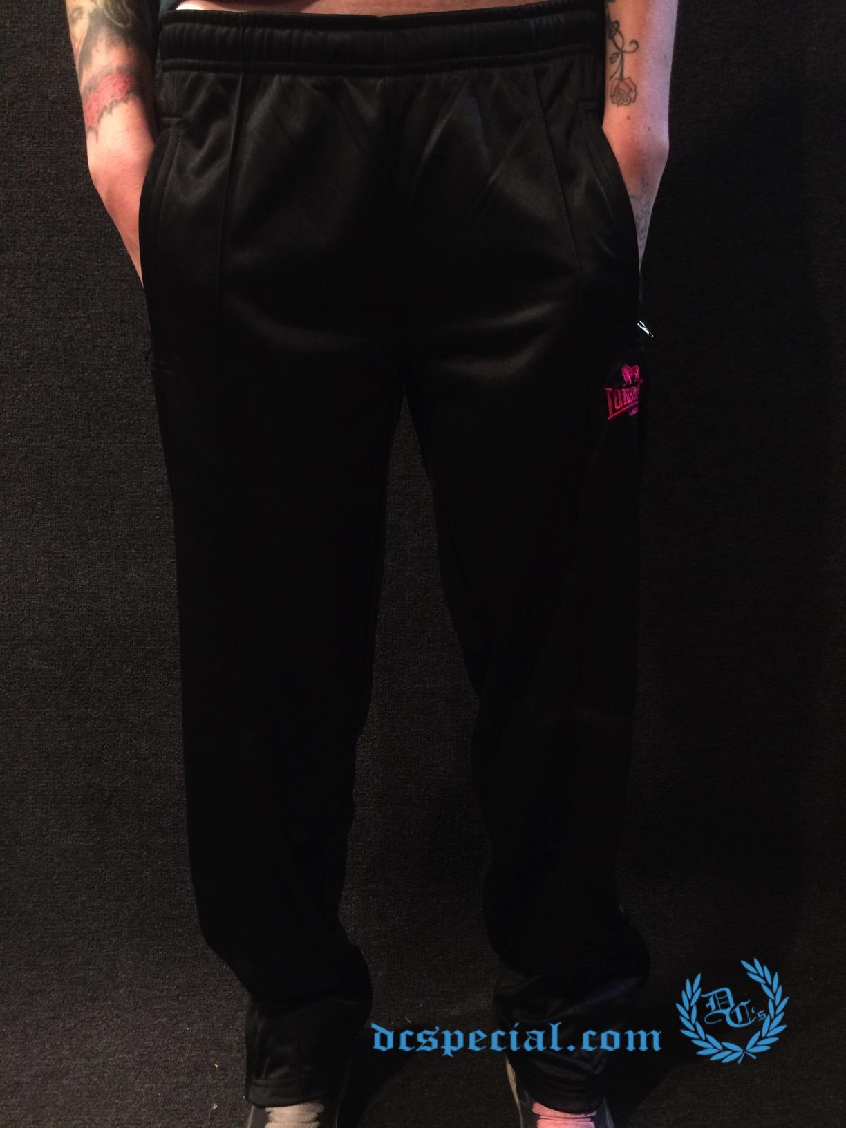 Lonsdale Trainingspants 'Black/Pink'