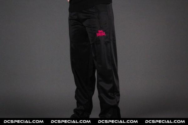 Lonsdale Dames Trainingsbroek 'Black/Pink'