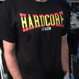 Hardcore T-Shirt 'Hardcore Spain'