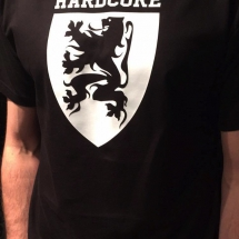 Hardcore Vlaanderen T-Shirt 'Shield'