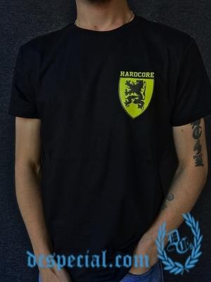 Hardcore Vlaanderen T-shirt 'Flemish Shield'
