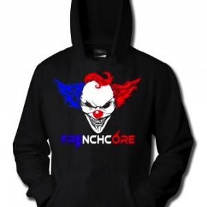 Hakken Hooded Sweater 'Frenchclown'