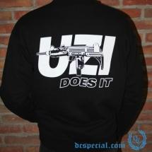 Gangland Sweater 'Uzi Does It'