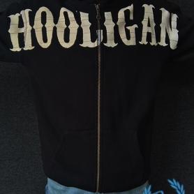 Hooligan Hooded Sweater 'Zipped Hooligan'