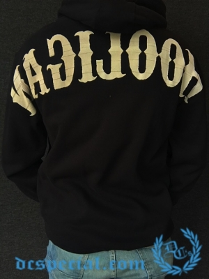 Hooligan Hooded Sweater 'Zipped Hooligan'