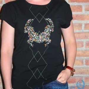 Cavello Dames T-shirt 'Bubbles'