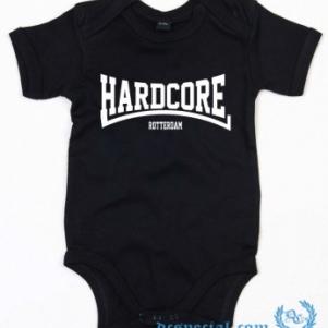 Hakken Baby Bodysuit 'Hardcore Rotterdam'