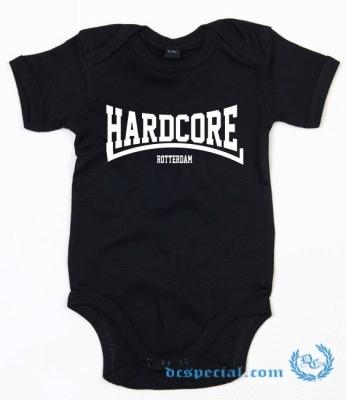 Hakken Baby Romper 'Hardcore Rotterdam'