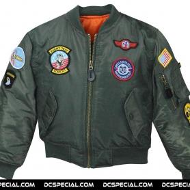 McAllister Children´s Flight Jacket 'Top Gun olive'