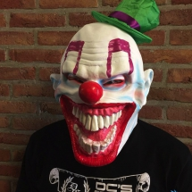 Masker clown 'with hat'