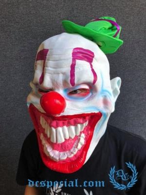 Masker Full Face 'Crazy Clown'
