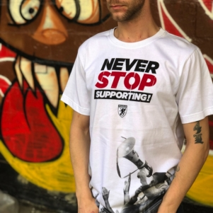 PGwear T-shirt 'Never Stop Supporting'