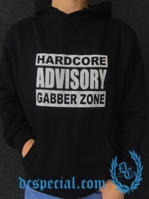 Hakken Hooded Sweater 'Hardcore Advisory'