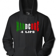 Hakken Hooded Sweater 'Hardcore 4 Life Tricolor'