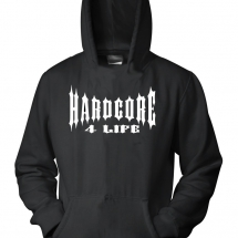 Hakken Hooded Sweater 'Hardcore 4 Life'