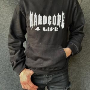 Hakken Hooded Sweater 'Hardcore 4 Life'