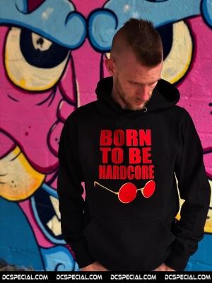 Hakken Hooded Sweater 'Born To Be Hardcore'