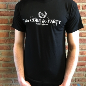 Dc's Special T-shirt 'No Core No Party'