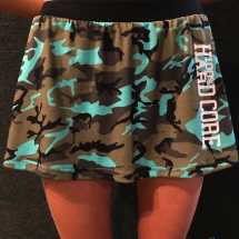 100% Hardcore Skirt 'Green Camo'