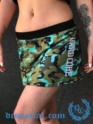 100% Hardcore Dames Rok 'Green Camo'