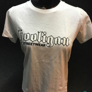 Hooligan Dames T-shirt 'Basic'