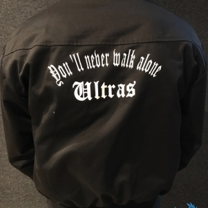 Ultras Harrington Veste 'Youll Never Walk Alone'