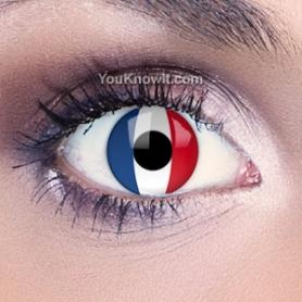 Eye Lenses 'French/Dutch Flag'